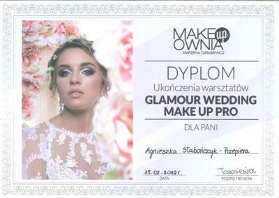 Glamour Wedding Makeup Pro Agnieszka Słabończyk Przepiera Dyplom
